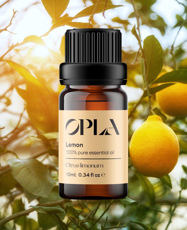 lemon pure essential oil organic