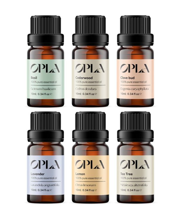 choose your own box of 6 essential oils