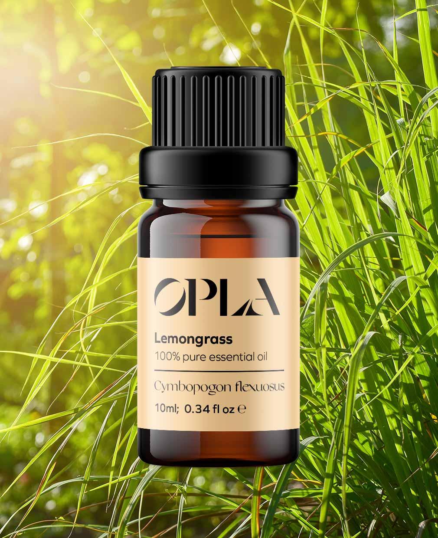 lemongrass pure essential oil organic