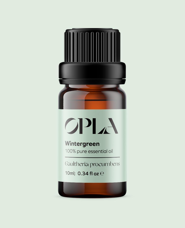 wintergreen pure essential oil organic